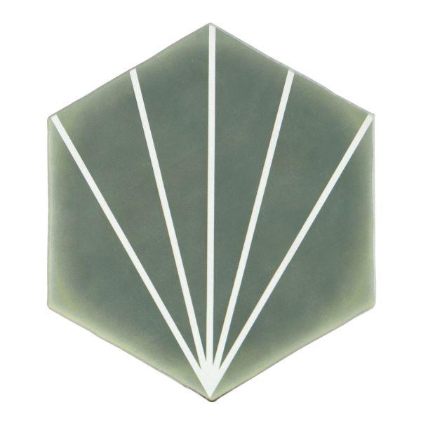 Ninfea Green Striped