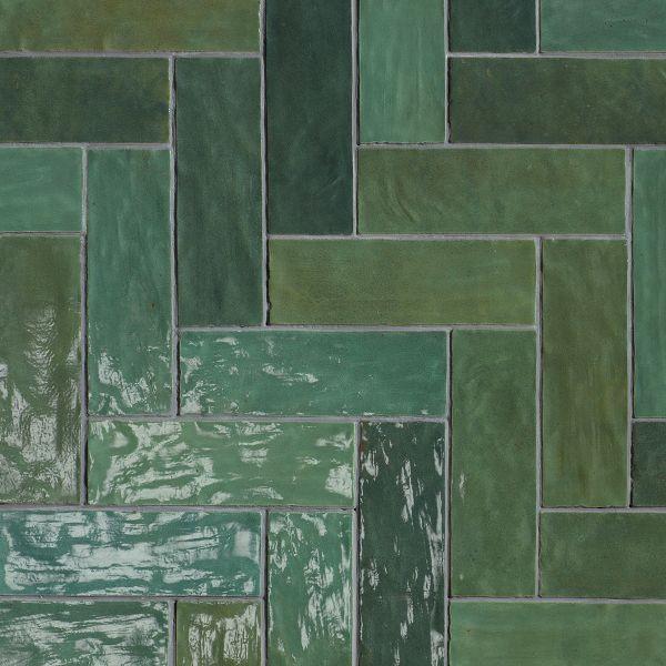 Zellije Green Glossy