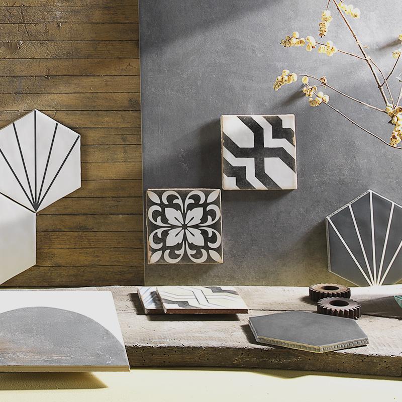 Collezioni Maltha Design - Maiorca, Ninfea, Morocco, Concrete