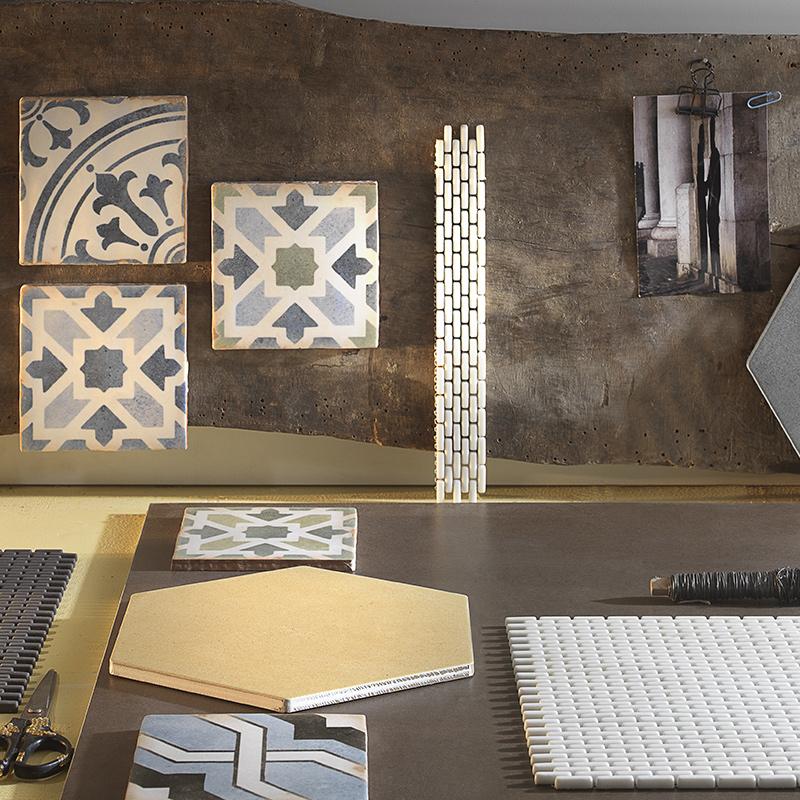 Collezioni Maltha Design - Tribeca, Morocco, Argilla, Metallica