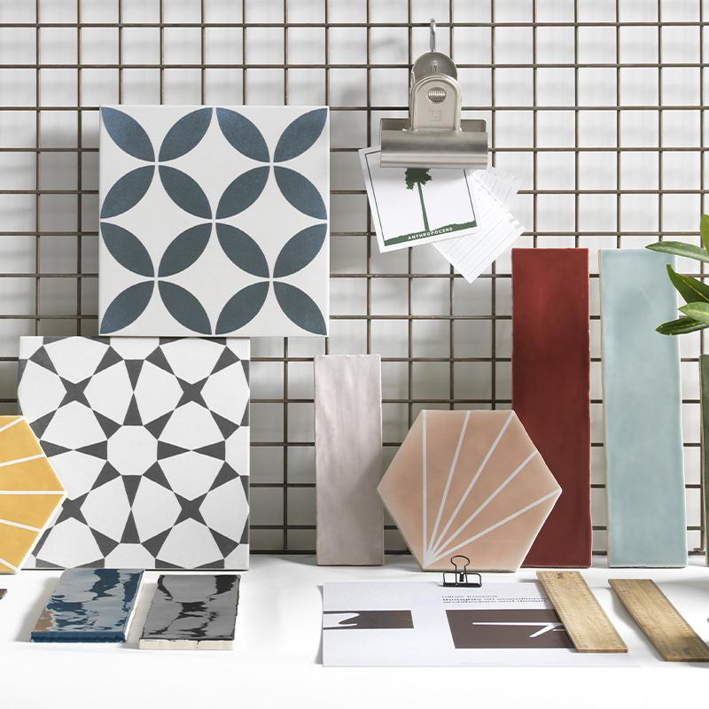 Collezioni Maltha Design - Maui, Ninfea, Trinidad, Zellije, Brick Lane