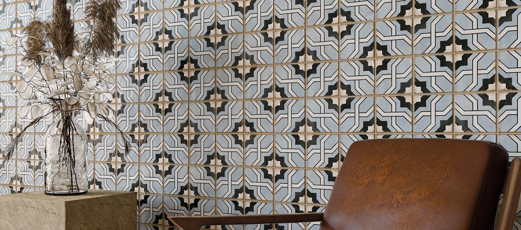 Geometrie artigianali e passione per la tradizione