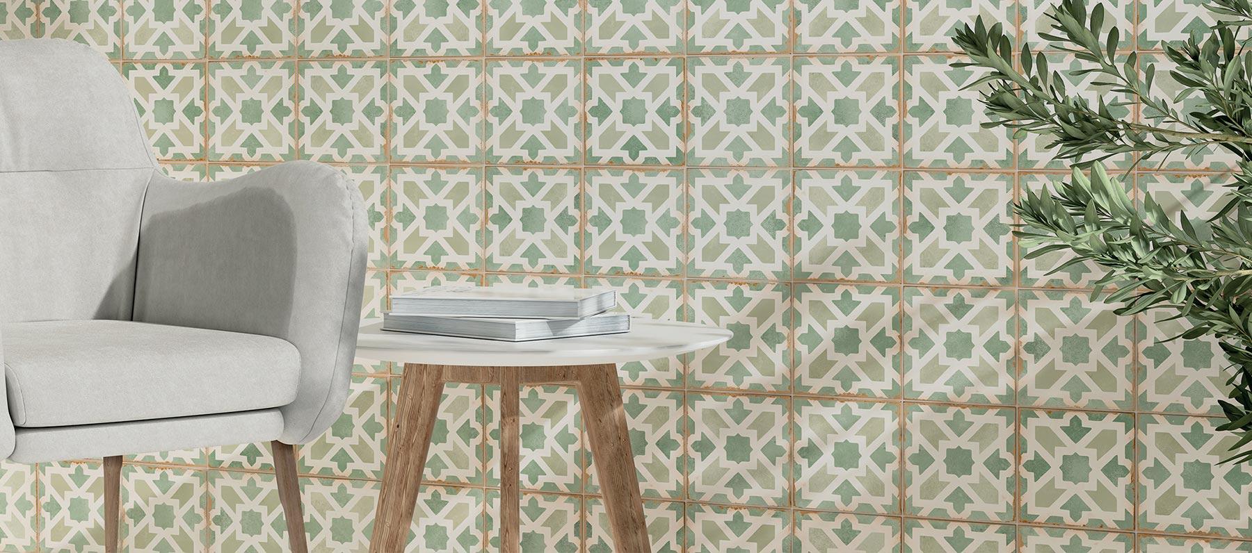 Morocco Ziane si candida a scelta vincente per bagni ultra raffinati: applicabile su ogni superficie interna, si presta anche alla posa su pavimento riscaldato
