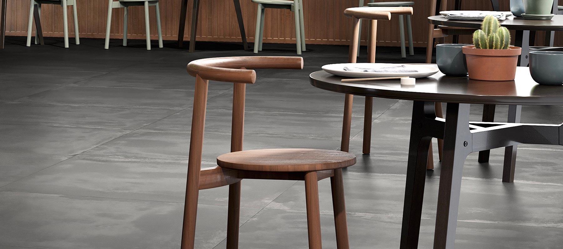 Elevate prestazioni tecniche del gres porcellanato per bar, uffici e ristoranti