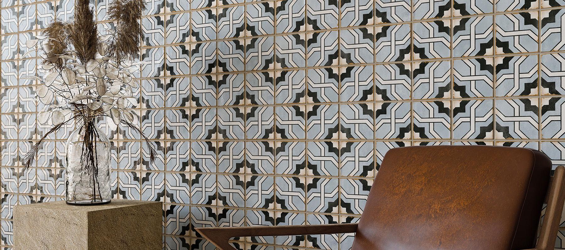 Morocco è disponibile in 10 diverse declinazioni, questa collezione spazia dalle delicate sfumature pastello del Kenzi all'ineffabile semplicità del White fino all'esuberanza dei motivi ornamentali Rialto.